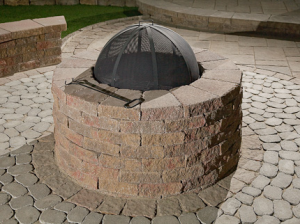 Camosse Masonry Supply, Massachusetts, Valencia Fire Pit