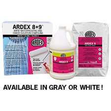 Ardex 8+9, bagged material, Masonry products