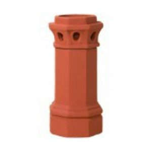 Clay Chimney Caps, camelot, flues and firebricks, fireplace products, masonry products