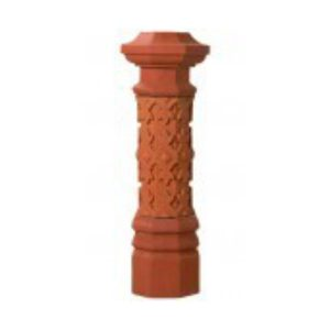 Clay Chimney Caps, fairmont, flues and firebricks, fireplace products, masonry products