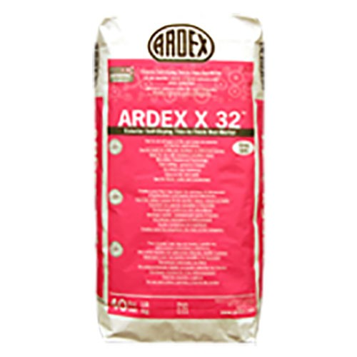 Ardex x 32, bagged material, Masonry products