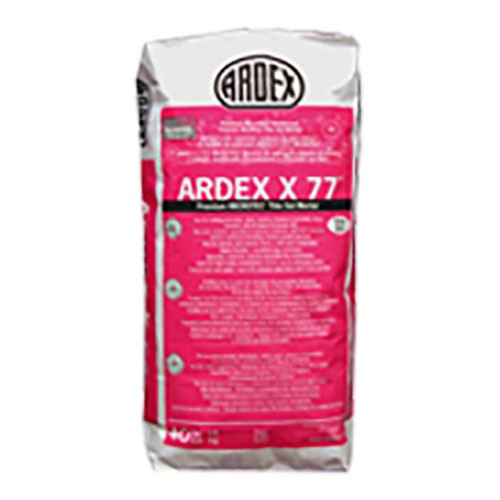 Ardex x 77, bagged material, Masonry products