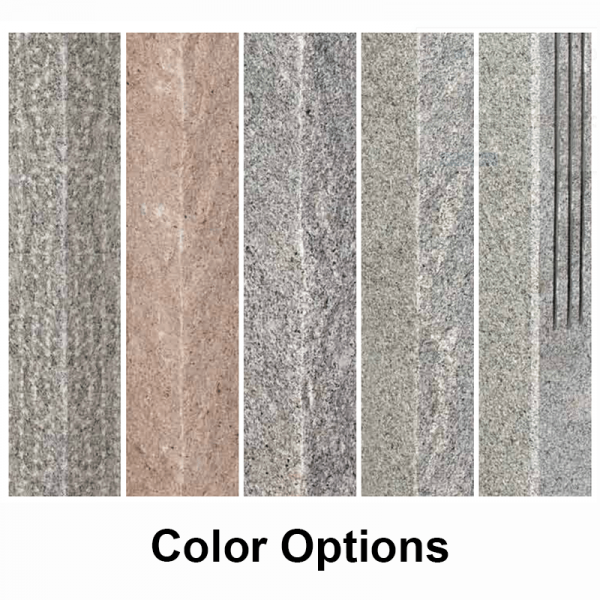 granite mailbox post color options min