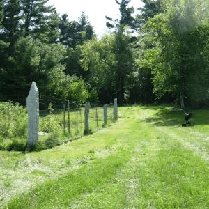 Granite Fence Post