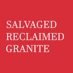 Reclaimed Salvaged Granite Logo