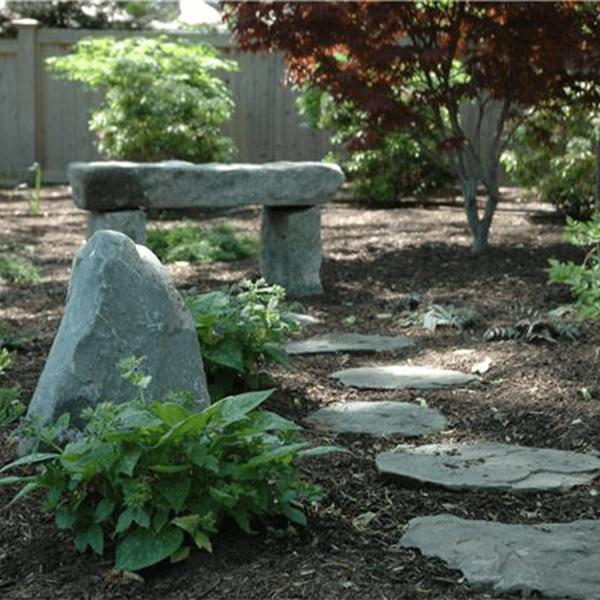 custom garden bench