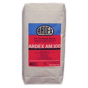 ardex AM 100 rapid set repair, bagged material, masonry products