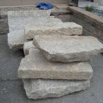 Salvaged granite steps and landings, salvaged stone, stone products, 5