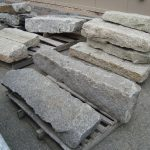 Salvaged granite steps and landings, salvaged stone, stone products, 3