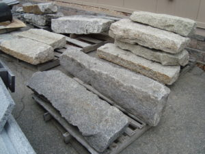 Salvaged Granite Steps and Landings