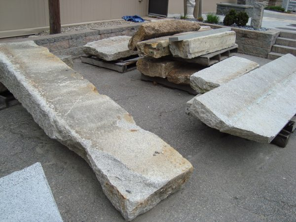 Salvaged granite steps and landings, salvaged stone, stone products, 2