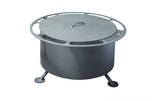 ablaze smoke less fire pit, lid, grills and inserts, fire pits, landscaping products