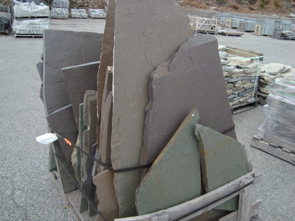 Bluestone Irregular Flagging, stone flagging, stone products