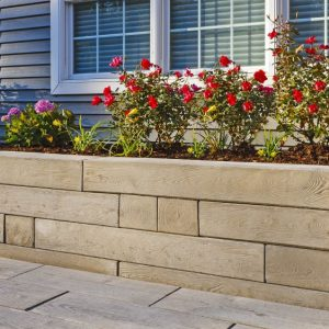Borealis wall, techo bloc walls, retaining wall systems, landscaping products