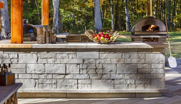 Brandon wall, techo bloc walls, retaining wall systems, landscaping products