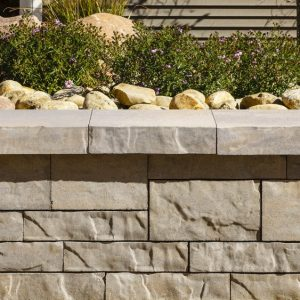 brandon cap, techo bloc caps, retaining wall systems, landscaping products