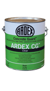 ardex cg concrete guard, bagged material, masonry products
