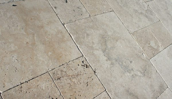 Chestnut Travertine, stone flagging, natural stone, stone