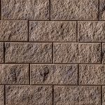 Semma Wall, chestnut brown, Techo Bloc Walls, Retaining Wall Systems, Landscaping products