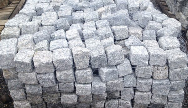 Cobblestone, gray, edging and pavers, natural stone, stone products