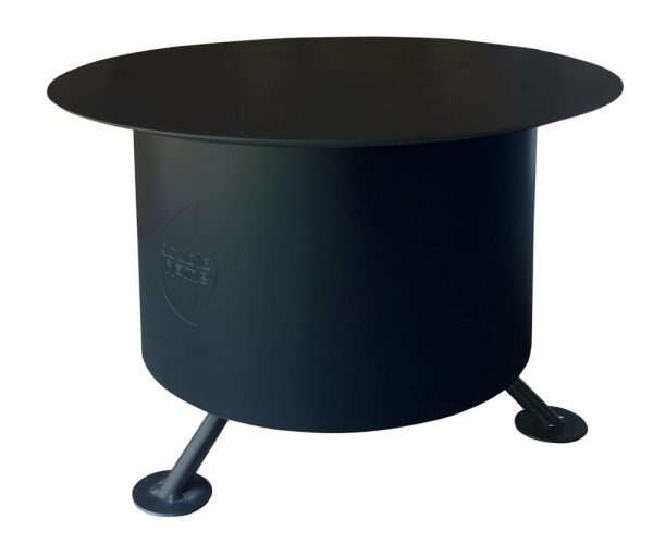 double flame smoke less fire pit, tabletop lid, grills and inserts, fire pits, landscaping products