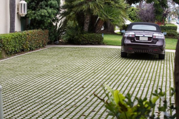 Drivable Grass, Fabrics and grids, landscaping products, 3