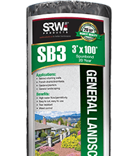 general landscape, sb3 spunbond, fabrics and grids, landscaping products