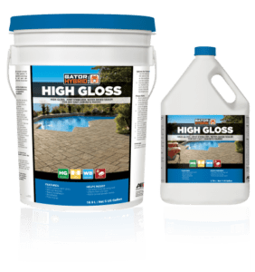 Gator hybrid seal high gloss, alliance products, pavers sealers and cleaners, concrete pavers, landscaping products