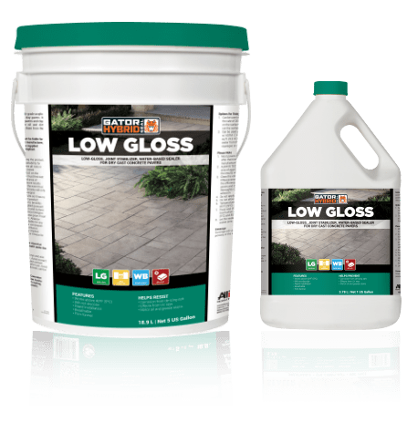 Gator hybrid seal low gloss, alliance products, pavers sealers and cleaners, concrete pavers, landscaping products
