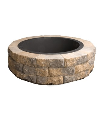 Genest Round Fire Pit, grills and inserts, landscaping products