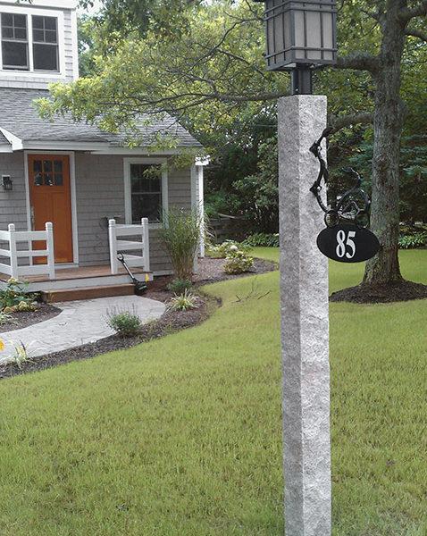 Granite Lamp Posts