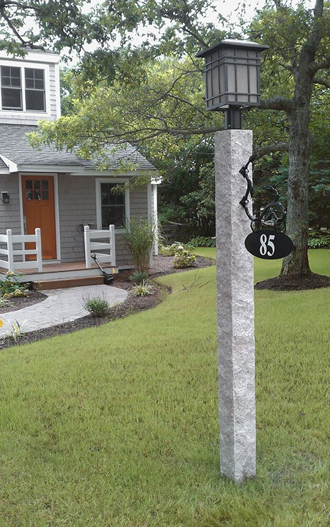 Granite Lamp Posts Camosse Masonry Supply