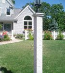 Granite Lamp post cap, 2, granite post and benches, stone, stone products
