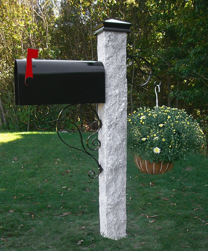 Granite Mailbox Posts Camosse Masonry Supply