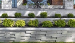 graphix wall, techo bloc walls, retaining wall systems, landscaping products
