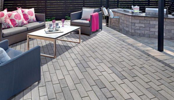 Linea paver, techo bloc, concrete pavers, landscaping products