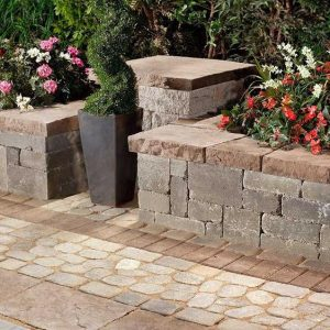 Manchester wall, techo bloc walls, retaining wall systems, landscaping products