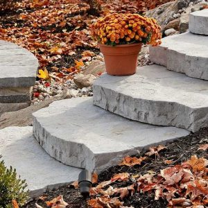 Maya Step, techo bloc walls, retaining wall systems, landscaping products