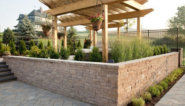mini creta wall, techo bloc walls, retaining wall systems, landscaping products
