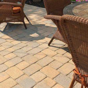 parisian paver, techo bloc, concrete pavers, landscaping products