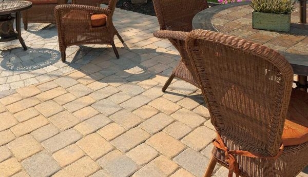 parisian paver, techo bloc, concrete pavers, landscaping products