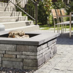 prescott wall, techo bloc walls, retaining wall systems, landscaping products