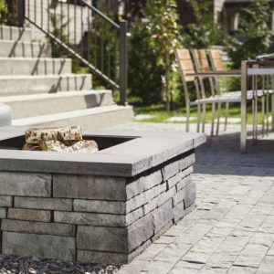 Prescott Firepit, Techo Bloc, Fire pits, grills, inserts, landscaping products