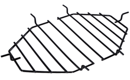 Primo Heat Deflector Racks, Jack Daniel's Edition Oval XL 400, grills and inserts, fire pits, landscaping products