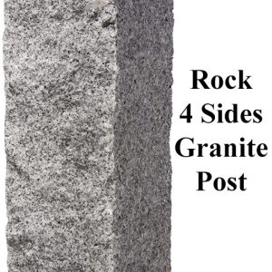 Rock 4 Sides, granite post and benches, stone, stone products