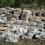 Salvaged granite, salvaged stone, stone products, 2