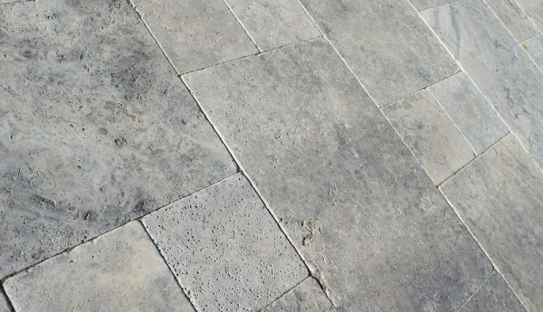silver Travertine, stone flagging, natural stone, stone