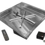 Square Stainless Steel, Fire Gear, fire pits, grills, inserts