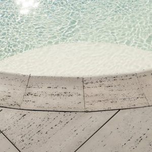 Bali Travertina Raw Coping, concrete curbing and coping, concrete pavers, landscaping products