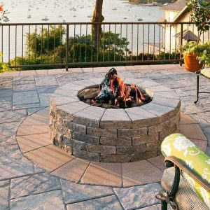 Valencia firepit, Techo Bloc, Fire pits, grills, inserts, landscaping products